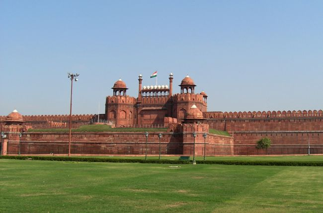 Red Fort, Dillí, Indie
